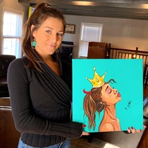 Francesca Falvo - Paint Night Instructor at Muse Paintbar Fairfax (Mosaic)