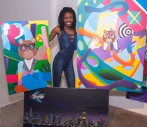 Latosha Maddox - Paint Night Instructor at Muse Paintbar Owings Mills