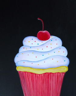 Cherry on Top- Muse Paintbar