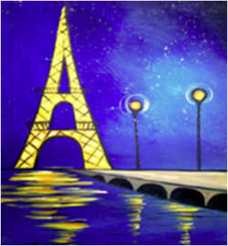Eiffel Tower- Muse Paintbar