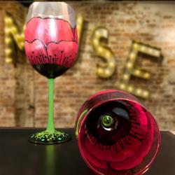 Poppy Wine- Muse Paintbar