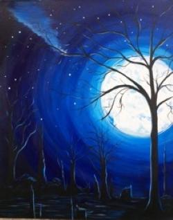 Midnight Swamp- Muse Paintbar