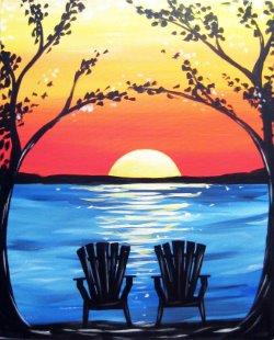Adirondack Nights- Muse Paintbar