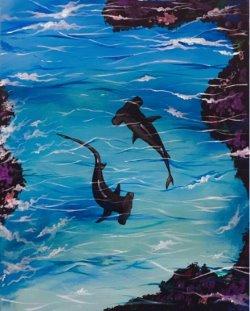 Aquatic Daydream- Muse Paintbar