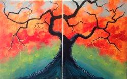Autumn Tree- Muse Paintbar