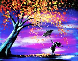 Autumn Wind- Muse Paintbar
