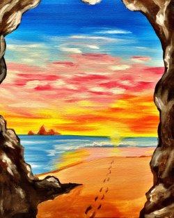 Beach Cove- Muse Paintbar
