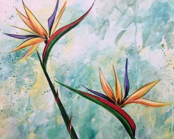 Birds of Paradise- Muse Paintbar