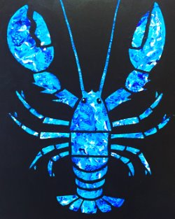 Blue Lobster- Muse Paintbar