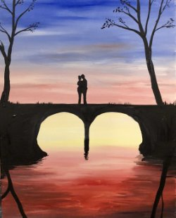 Bridging Love- Muse Paintbar