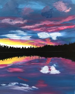 Candy Skies- Muse Paintbar
