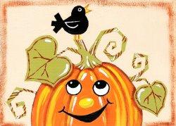 Cheerful Pumpkin - Muse Paintbar