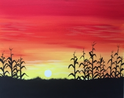 Citrus Cornfield- Muse Paintbar