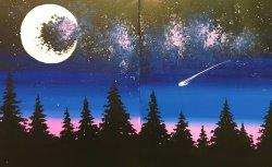 Cosmic Skies - Muse Paintbar
