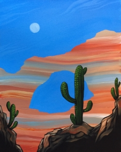 Desert Arch- Muse Paintbar