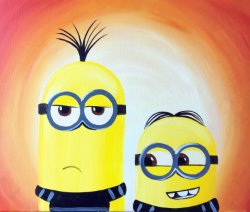 Despicable Me - Muse Paintbar