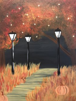 Fall Fireflies- Muse Paintbar