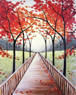 Fall Stroll- Muse Paintbar