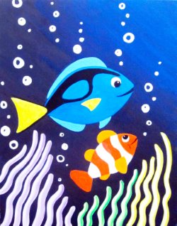 Finding Dory- Muse Paintbar