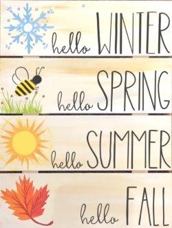 Four Seasons - Muse Paintbar
