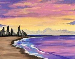 Golden Coast- Muse Paintbar