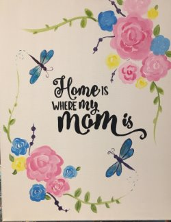 Home is Where Mom is- Muse Paintbar