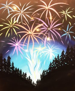 Fireworks- Muse Paintbar