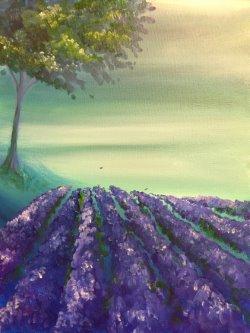 Lavender Summer- Muse Paintbar