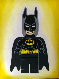 Lego Batman- Muse Paintbar