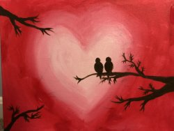 Love Birds- Muse Paintbar