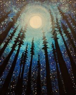 Lunar Forest- Muse Paintbar