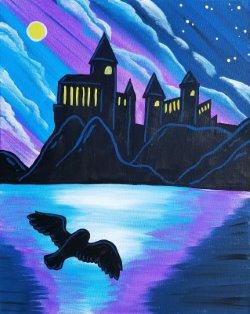 Moonlight Castle - Muse Paintbar