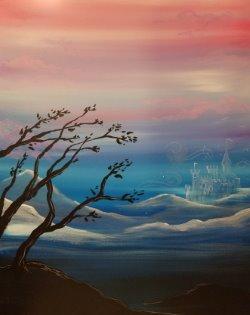 Mystic Castle- Muse Paintbar