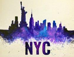 NYC Skyline- Muse Paintbar