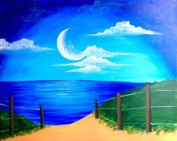 Night on the Beach- Muse Paintbar