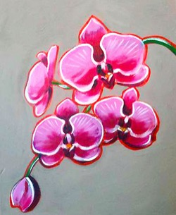 Orchids- Muse Paintbar