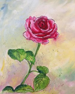 Painted Rose- Muse Paintbar