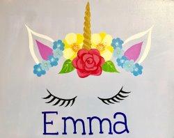 Personalized Unicorn- Muse Paintbar