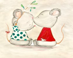 Playful Mice- Muse Paintbar