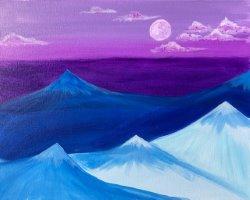 Purple Majesty- Muse Paintbar
