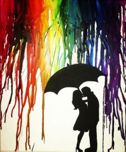 Raining Romance- Muse Paintbar