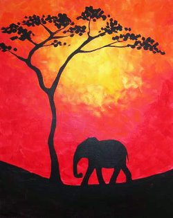 Safari- Muse Paintbar
