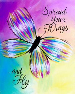 Spread Your Wings- Muse Paintbar