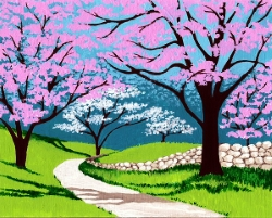 Springtime Path- Muse Paintbar