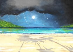 Stormy Seas and Shadows- Muse Paintbar