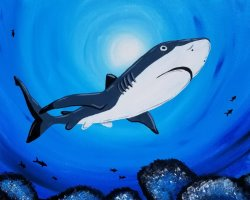 Swim with the Sharks - Muse Paintbar