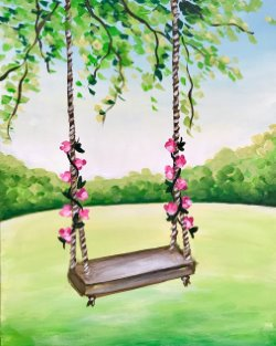 Swinging into Summer- Muse Paintbar