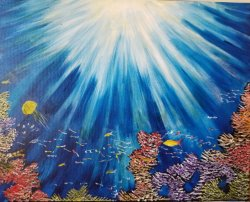 Under the Coral Sea- Muse Paintbar