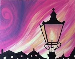 Twilight Illumination- Muse Paintbar
