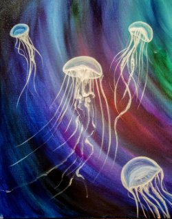 Dance of the Jellies- Muse Paintbar